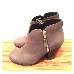 Rag & Bone Margot leather boot in asphalt gray NWT